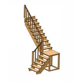 Г образные деревянные лестницы своими руками 6